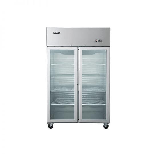 Refrigerador 900 lts 1 cuerpo 2 puertas de vidrio VENTUS - Image 1