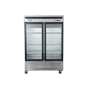 Refrigerador 2 Cuerpos Acero Inoxidable, 2 puertas de vidrio 1310Lts VENTUS.