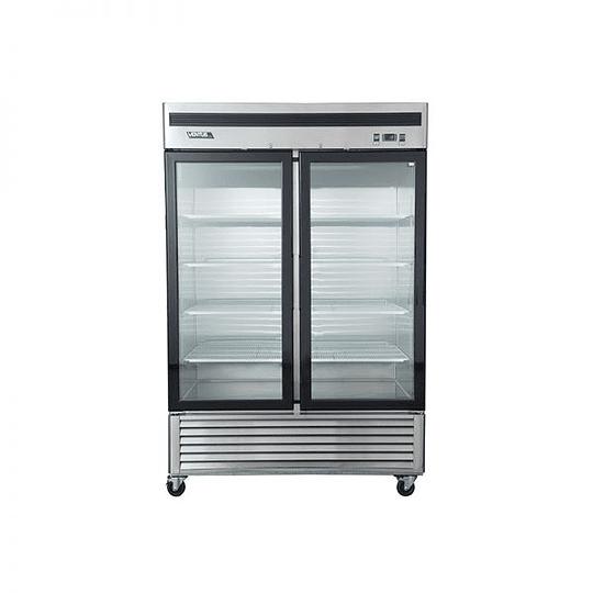 Refrigerador 2 Cuerpos Acero Inoxidable, 2 puertas de vidrio 1310Lts VENTUS. - Image 1