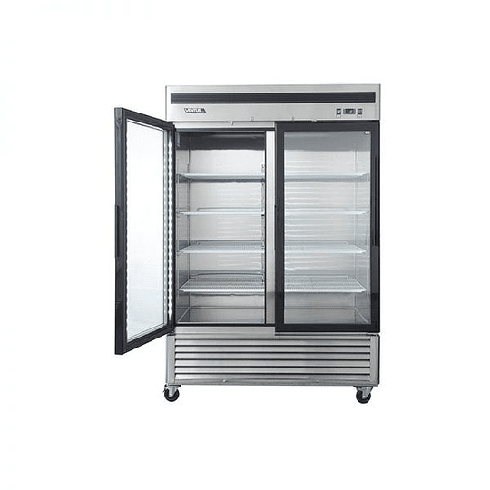 Refrigerador 2 Cuerpos Acero Inoxidable, 2 puertas de vidrio 1310Lts VENTUS. - Image 3