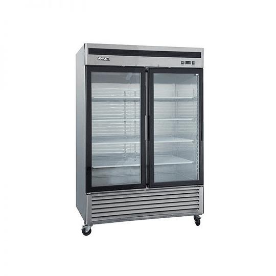 Refrigerador 2 Cuerpos Acero Inoxidable, 2 puertas de vidrio 1310Lts VENTUS. - Image 4