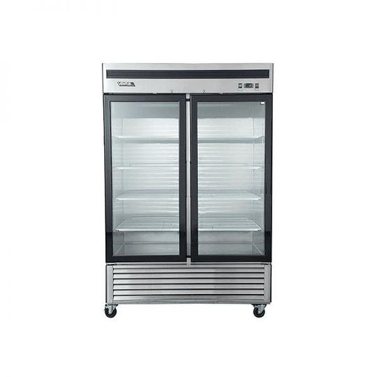 Refrigerador 2 Cuerpos Acero Inoxidable, 2 puertas de vidrio 1310Lts VENTUS. - Image 5