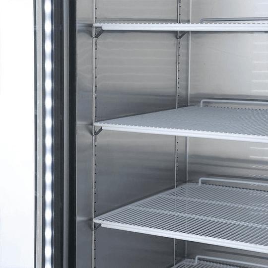 Refrigerador 2 Cuerpos Acero Inoxidable, 2 puertas de vidrio 1310Lts VENTUS. - Image 6