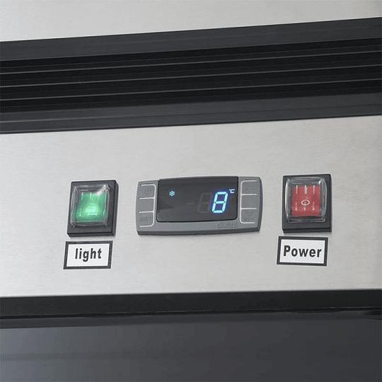 Refrigerador 2 Cuerpos Acero Inoxidable, 2 puertas de vidrio 1310Lts VENTUS. - Image 7