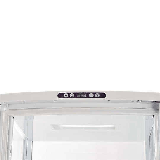 Vitrina Pastelera Vertical Cuadrada Blanca 235 Lts VENTUS. - Image 6