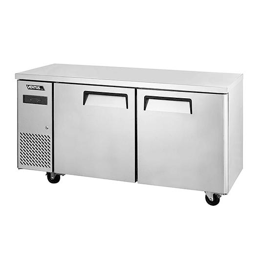Mesón refrigerado 2 puertas 260 litros VENTUS - Image 1