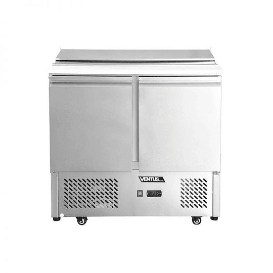 Meson saladette 2 puertas de acero inoxidable 200 litros VENTUS - Image 3
