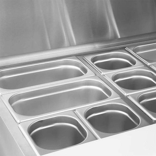 Meson saladette 2 puertas de acero inoxidable 200 litros VENTUS - Image 6