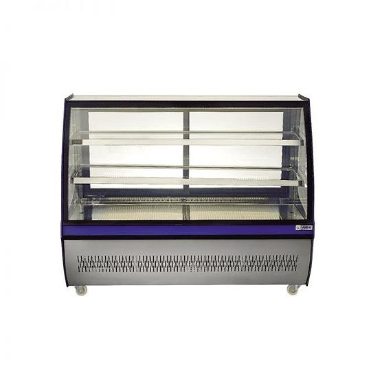 Mesón vitrina refrigerado 1,5 mts VENTUS - Image 1