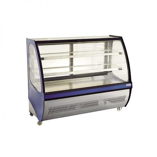 Mesón vitrina refrigerado 1,5 mts VENTUS - Image 2