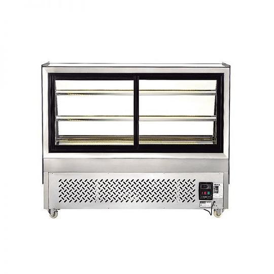 Mesón vitrina refrigerado 1,5 mts VENTUS - Image 4