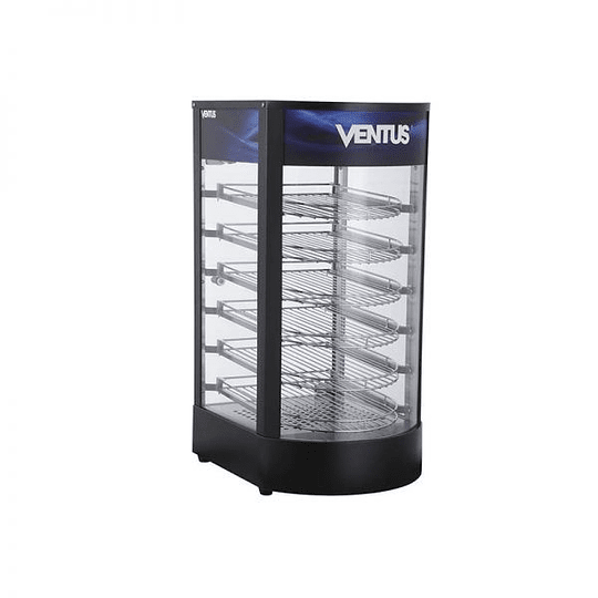 Vitrina mantenedora de alimentos semi curva VENTUS - Image 3