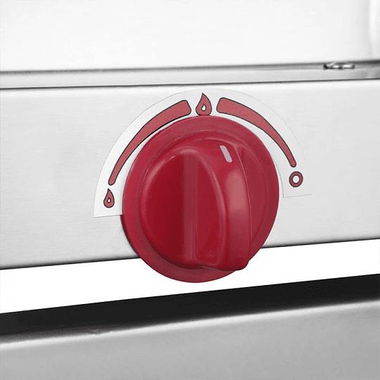 Horno Industrial a Gas 1 Camara 58X68 cm VENTUS - Image 5