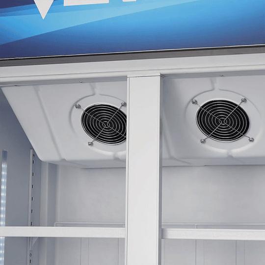 Visicooler 2 puertas Turbo Cooling 550 litros VENTUS - Image 6