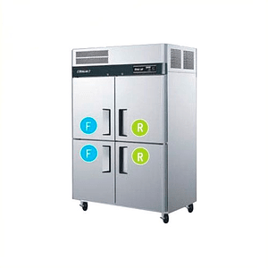 Refrigerador freezer 2 cuerpos 4 puertas TURBO AIR