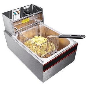 Freidora eléctrica de sobremesa con 1 deposito 8 lts KFB