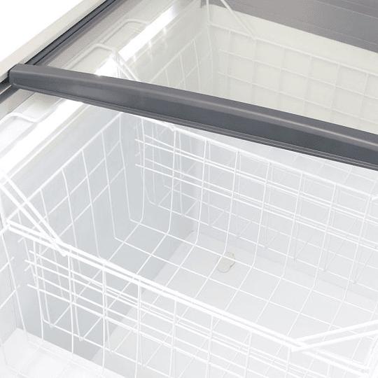 Congeladora Triple función Tapa de Vidrio inclinado 340 lts  VENTUS  - Image 5