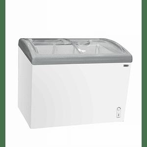 Congeladora Triple Función Vidrio Curvo 340 litros VENTUS