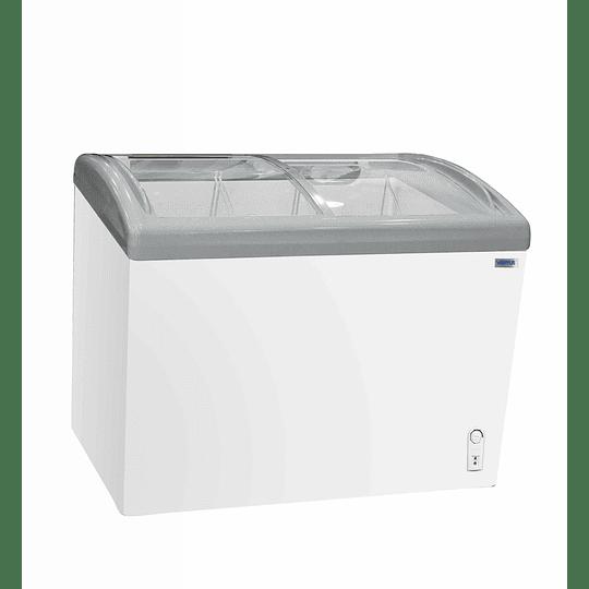 Congeladora Triple Función Vidrio Curvo 340 litros VENTUS - Image 1
