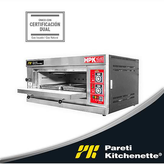 Horno de Piso 60x40 PARETI KITCHENETTE