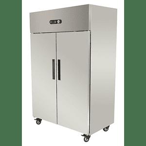 Refrigerador Industrial 2 puertas 1000 lts silver MAIGAS