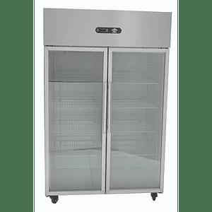 Congelador 1000 lt 2 puertas vidrio MAIGAS