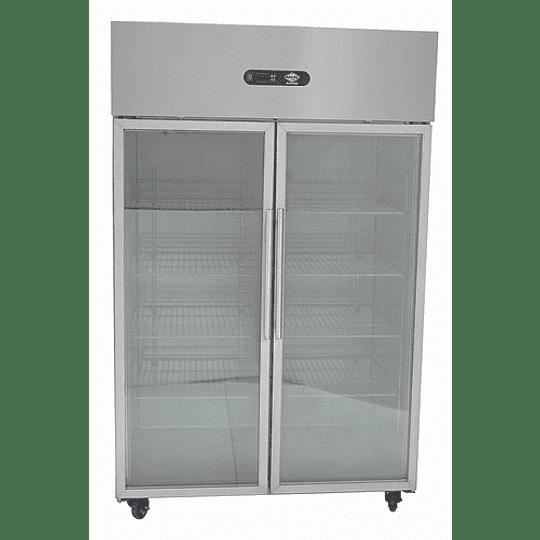 Congelador 1000 lt 2 puertas vidrio MAIGAS - Image 1