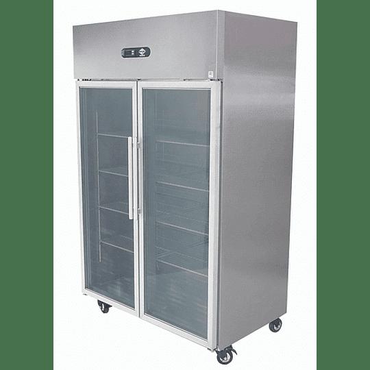 Congelador 1000 lt 2 puertas vidrio MAIGAS - Image 3