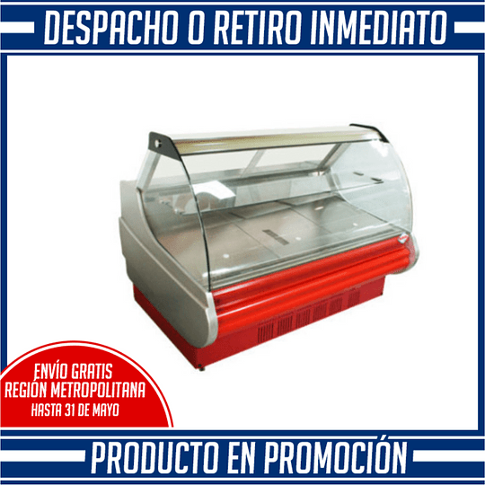 Vitrina Refrigerada Carnicera 1,5 mts MAIGAS - Image 1