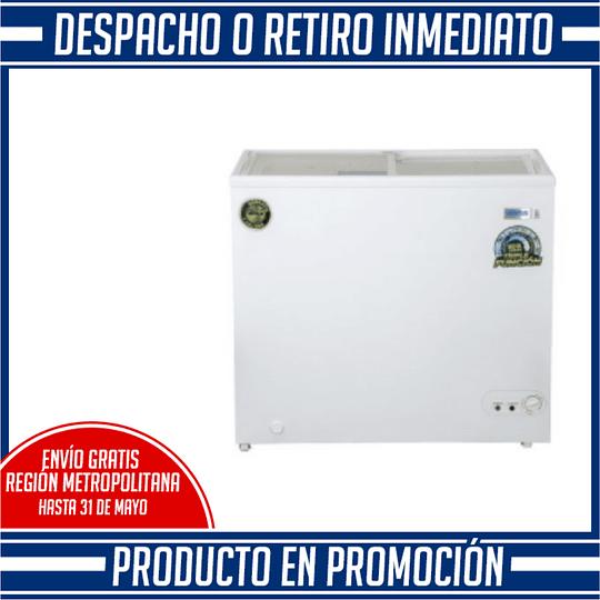 Congeladora Triple Función Tapa Vidrio 210 litros VENTUS. - Image 2
