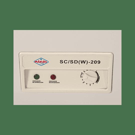 Congeladora 209 Tapa de Vidrio MAIGAS - Image 2