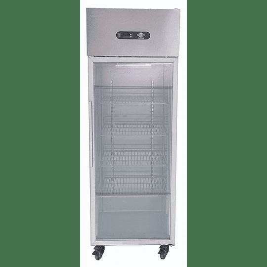 Congelador vertical 1 Puerta de vidrio 500LT Maigas - Image 2