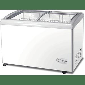 Congeladora Horizontal Vidrio Curvo 350 litros VENTUS