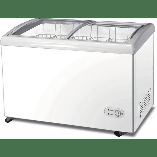 Congeladora Triple Función Vidrio Curvo 340 litros VENTUS - Image 2