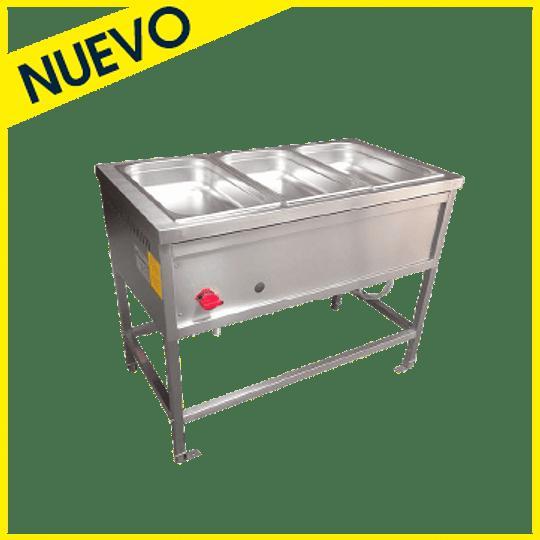 Baño Maria a Gas Eco 3 Depósitos AMC.