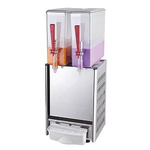 Dispensador de jugos para pulpa de 2 vasos 10X2 LTS VENTUS