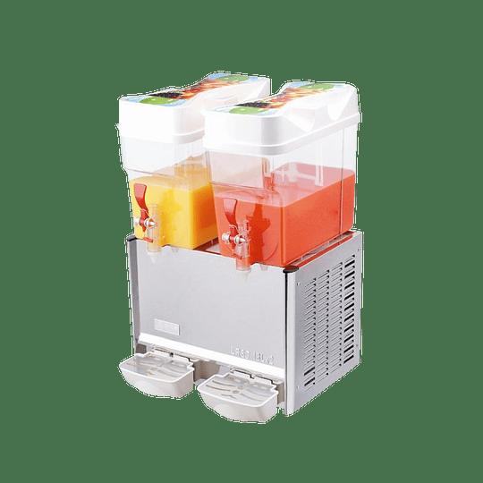 Dispensador de jugos para pulpa de 2 vasos 18X2 lts VENTUS