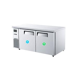 Meson refrigerador/ feezer de 2 puertas TURBO AIR