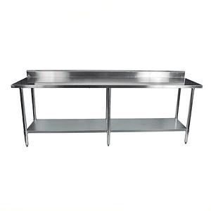 Mesón de Trabajo Mural C/Repisa Infer 210 cm WORK TABLE