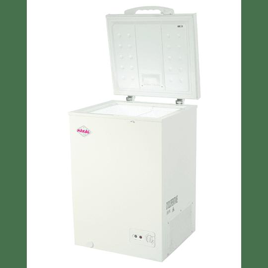 Congeladora Dual de 99 lts Tapa Dura MAIGAS - Image 1