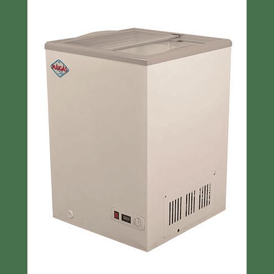 Congeladora de Tapa de Vidrio 100 lts Dual MAIGAS - Image 2
