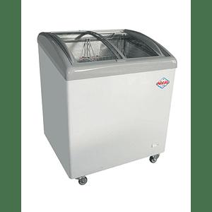 Congeladora Tapa de Vidrio Curvo 160 lts MAIGAS