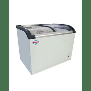 Congelador de Tapa de Vidrio Curvo 273 lts. MAIGAS