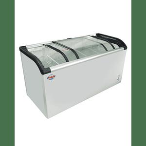 Congelador de Tapa de Vidrio Curvo 520 lts. MAIGAS