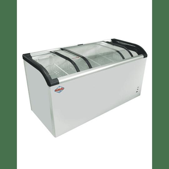 Congelador de Tapa de Vidrio Curvo 520 lts. MAIGAS - Image 1