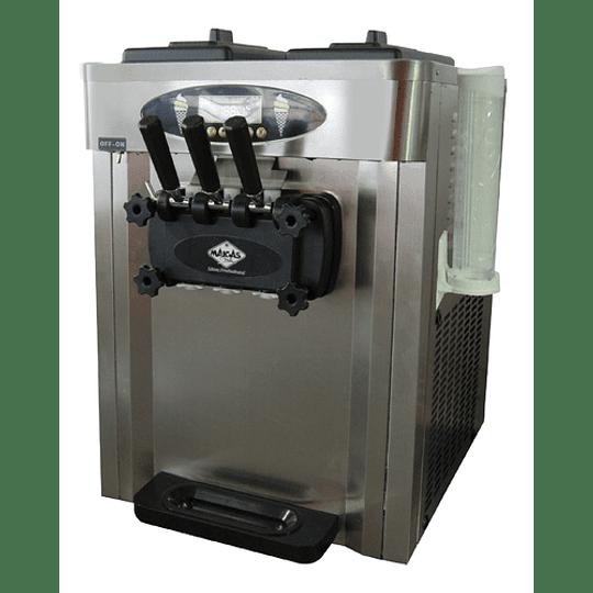 Máquina de Helados Soft de sobremesa 25 Lts/hr MAIGAS