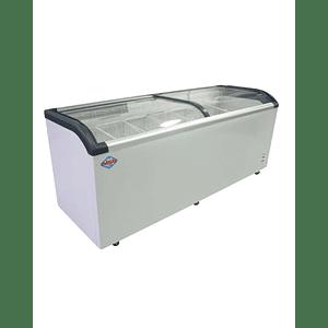 Congelador de Tapa de Vidrio Curvo 650 lts MAIGAS