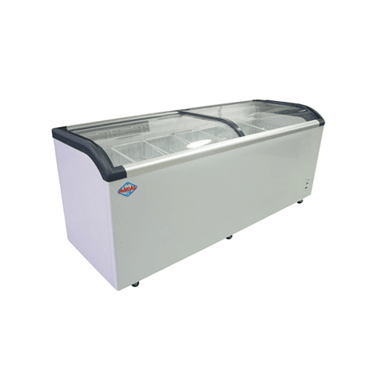 Congelador de Tapa de Vidrio Curvo 650 lts MAIGAS - Image 1