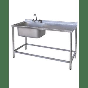 Lavaplato 1 Taza 1200 mm - 1 Secador Derecho MAIGAS