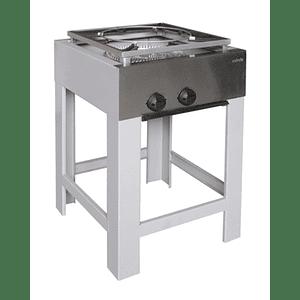 Anafe Industrial 1 plato doble quemador 430x430 mm MAIGAS